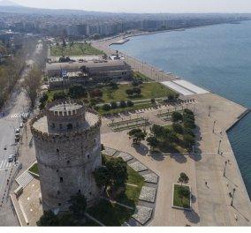 Τραγωδία στη Θεσσαλονίκη: 23χρονος έπεσε στο κενό από τις φοιτητικές εστίες του Αριστοτελείου Πανεπιστημίου - Κυρίως Φωτογραφία - Gallery - Video