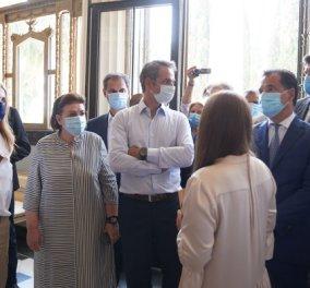 Καρέ καρέ η επίσκεψη του Πρωθυπουργού Κυριάκου Μητσοτάκη στην Κέρκυρα (Φωτό & Βίντεο)  - Κυρίως Φωτογραφία - Gallery - Video