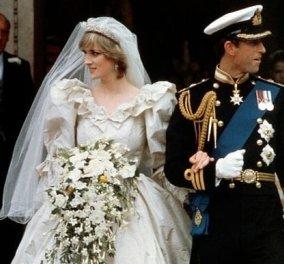 """Όταν ο Κάρολος παντρεύτηκε τη Λαίδη Νταϊάνα - Σπάνιες φωτογραφίες & βίντεο από τον """"γάμο του αιώνα"""" που έγινε πριν 39 χρόνια  - Κυρίως Φωτογραφία - Gallery - Video"""
