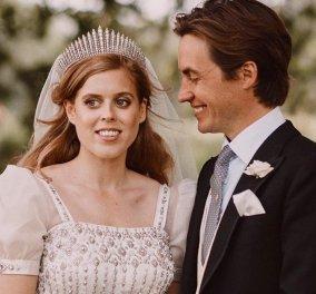 H νέα φωτογραφία από τον γάμο της πριγκίπισας Beatrice που δημοσίευσε ο σύζυγός της & το ποίημα που της αφιέρωσε - Κυρίως Φωτογραφία - Gallery - Video