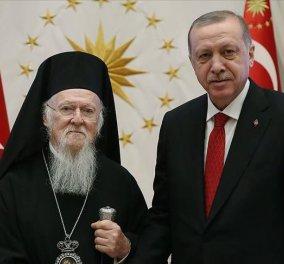 Οικουμενικός Πατριάρχης Βαρθολομαίος: Εξοχότατε πρόεδρε Ερντογάν ευχαριστούμε για τα έργα ανακαίνισης στην Παναγία Σουμελά (φωτό - βίντεο) - Κυρίως Φωτογραφία - Gallery - Video