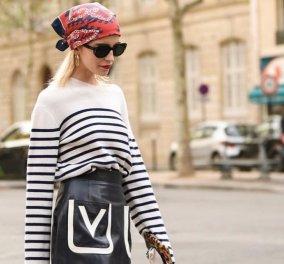 Μαντήλι στα μαλλιά: Δείτε πως να το δέσετε για εντυπωσιακά χτενίσματα - Trendy παραλλαγές (Φωτό - Βίντεο) - Κυρίως Φωτογραφία - Gallery - Video