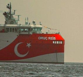 Τουρκία: «Παγώνουν» οι έρευνες του Oruc Reis στο Αιγαίο με εντολή Ερντογάν - Καλίν: Είμαστε έτοιμοι να συνομιλήσουμε χωρίς προϋποθέσεις & όρους με την Ελλάδα - Κυρίως Φωτογραφία - Gallery - Video