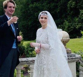Πριγκίπισσα Ράγια της Ιορδανίας: Παντρεύτηκε τον αγαπημένο της Βρετανό δημοσιογράφο με μόλις 4 καλεσμένους- Το εντυπωσιακό νυφικό (φωτό - βίντεο) - Κυρίως Φωτογραφία - Gallery - Video