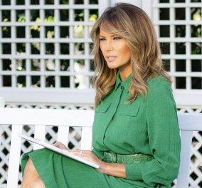 Η Melania αλλάζει τελείως τους κήπους του Λευκού Οίκου παράλληλα με την στυλίστριά της - Επιλέγει πλέον σοφιστικέ κοστούμια & αυστηρά ταγιέρ (φωτό) - Κυρίως Φωτογραφία - Gallery - Video