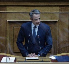 Live: Ο Κυριάκος Μητσοτάκης μιλά στη Βουλή για τις συνέπειες του κορωνοϊού  - Κυρίως Φωτογραφία - Gallery - Video
