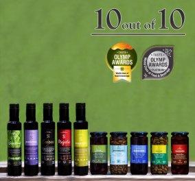 10 στα 10 - Στα TASTE OLYMP AWARDS 2020 QUALITY για τους Ελαιώνες Σακελλαρόπουλου - Από τους επαγγελματίες της γεύσης και του Fine Dining - Κυρίως Φωτογραφία - Gallery - Video