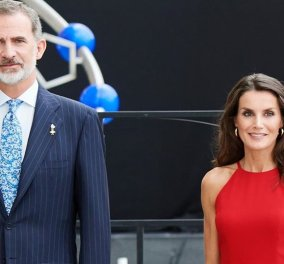 Πάντα στο πλευρό του Βασιλιά Φελίπε η ωραία Λετίσια - Η νέα υπέρκομψη floral εμφάνιση της Βασίλισσας της Ισπανίας (φωτό) - Κυρίως Φωτογραφία - Gallery - Video
