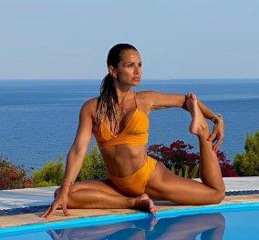 Σόφη Πασχάλη: Το κορίτσι - λάστιχο του καλοκαιριού - Με απίθανα μπικίνι κάνει ασκήσεις yoga & pilates πλάι στη θάλασσα (φωτό - βίντεο) - Κυρίως Φωτογραφία - Gallery - Video