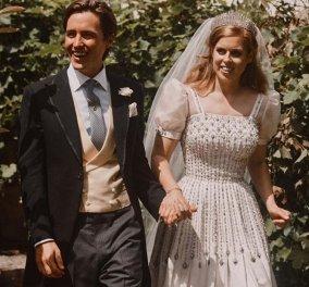 Οι νέες φωτογραφίες από τον γάμο της πριγκίπισσας Beatrice & οι ευχές από τον William και την Kate - Κυρίως Φωτογραφία - Gallery - Video