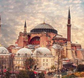 «Μαύρη μέρα» για την Ορθοδοξία: Από σήμερα κλειστή η Αγιά Σοφιά για τους επισκέπτες – Ανοίγει ως τζαμί  - Κυρίως Φωτογραφία - Gallery - Video