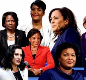 Αυτές είναι οι 7 γυναίκες υποψήφιες για Αντιπρόεδροι του Joe Biden - Επικρατέστερες 4 μαύρες - Ποια είναι ποια (Φωτό)  - Κυρίως Φωτογραφία - Gallery - Video