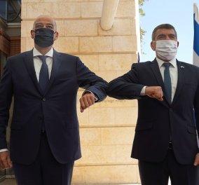 Καρέ καρέ η επίσκεψη του Νίκου Δένδια στο Ισραήλ - Η συνάντηση με Νετανιάχου & το θερμό μήνυμα του ομολόγου του Gabi Ashkenazi: «Καλώς όρισες καλέ μου φίλε» (φωτό) - Κυρίως Φωτογραφία - Gallery - Video