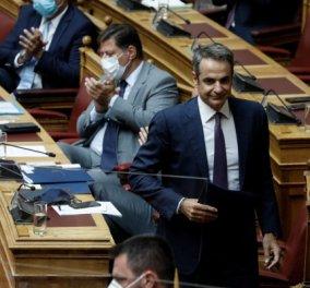 Κυρ. Μητσοτάκης: Η Ελλάδα επεκτείνει την αιγιαλίτιδα ζώνη προς δυσμάς από τα 6 στα 12 μίλια (Φωτό & Βίντεο) - Κυρίως Φωτογραφία - Gallery - Video