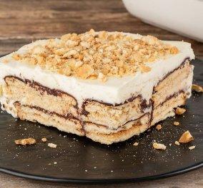 Ένα λαχταριστό σοκολατένιο γλύκισμα από τον Άκη Πετρετζίκη που είναι έτοιμο σε μόλις 10'  - Κυρίως Φωτογραφία - Gallery - Video