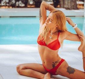Η πιο ευλύγιστη & όμορφη yogi της Ελλάδας είναι η Αλεξάνδρα Ρίζου Καλοδήμα - Το κορίτσι λάστιχο νομίζεις ότι είναι φτιαγμένο από πλαστελίνη (φωτό - βίντεο) - Κυρίως Φωτογραφία - Gallery - Video
