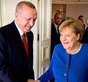 Ερντογάν καλεί Μέρκελ: Διάλογος & διαπραγμάτευση ο δρόμος της λύσης - Ξαφνικά καλό παιδί; (βίντεο) - Κυρίως Φωτογραφία - Gallery - Video