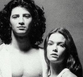 Vintage φωτογραφία: Ο Σάκης Ρουβάς σχεδόν έφηβος με την 14χρονη τότε Βίκυ Καγιά- Τα ανερχόμενα αστεράκια στο καλλιτεχνικό στερέωμα της Ελλάδας (Φωτό)  - Κυρίως Φωτογραφία - Gallery - Video