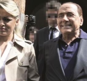 Σίλβιο Μπερλουσκόνι: Ερωτικές ιστορίες - Η πρώην μνηστή του φιλάει παθιασμένα την φίλη της - Εκείνος παρουσιάζει το ξανθό κορίτσι του  - Κυρίως Φωτογραφία - Gallery - Video