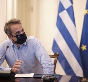 Με παρέμβαση Μητσοτάκη δωρεάν εμβόλιο για όλους τους Έλληνες όταν έρθει - Δωρεάν οι μάσκες στα σχολεία (φωτό) - Κυρίως Φωτογραφία - Gallery - Video