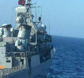 Οι πρώτες εικόνες από τη ζημιά στο τουρκικό πλοίο Kemal Reis μετά το περιστατικό με τη φρεγάτα Λήμνος (φωτό - βίντεο) - Κυρίως Φωτογραφία - Gallery - Video