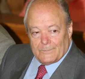 Πέθανε ο πρώην υπουργός της ΝΔ Νίκος Γκελεστάθης σε ηλικία 90 ετών - Κυρίως Φωτογραφία - Gallery - Video