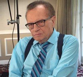 Το πρώτο μήνυμα του Larry King μετά τον θάνατο των δύο παιδιών του: «Κανένας γονιός δεν θα έπρεπε να περνά κάτι τέτοιο» (φωτό) - Κυρίως Φωτογραφία - Gallery - Video