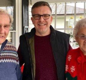 """Story of the day: Ο παππούς """"έφυγε"""" από τη ζωή στις 8 & στις 8.05 τον ακολούθησε η γυναίκα του γιατί δεν άντεξε - Ήταν μαζί 70 χρόνια (φωτό - βίντεο) - Κυρίως Φωτογραφία - Gallery - Video"""