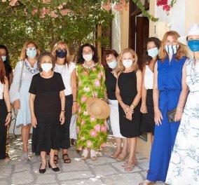 Μαρέβα Μητσοτάκη: Τη συνεπήρε το φεγγαρόφωτο στη Χάλκη – Η επίσκεψη της στο μαγευτικό Νημποριό (Φωτό & Βίντεο)  - Κυρίως Φωτογραφία - Gallery - Video