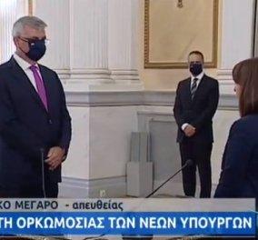 Live: Αυτή την ώρα η ορκωμοσία των νέων Υφυπουργών στο Προεδρικό Μέγαρο - Κυρίως Φωτογραφία - Gallery - Video