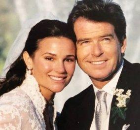 Ευτυχισμένοι για πάντα: Ο Πιρς Μπρόσναν αγκαλιά με την γυναίκα του της εύχεται για την επέτειo του γάμου τους (φωτό) - Κυρίως Φωτογραφία - Gallery - Video