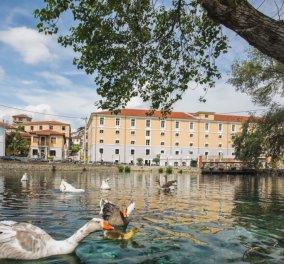 Hydrama Grand Hotel: Σε παραμυθένιο ξενοδοχείο & spa 5 αστέρων μετατράπηκε η διάσημη  καπναποθήκη Spierer - Μπροστά στον μαγικό υδροβιότοπο της  Δράμας με Λίμνες, καταρράκτες & πλάτανους (φωτο) - Κυρίως Φωτογραφία - Gallery - Video