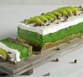 Ο Άκης Πετρετζίκης μας φτιάχνει τη διάθεση με ονειρικό & ελαφρύ γλυκό με σορμπέ ακτινίδιο - πεπόνι - Κυρίως Φωτογραφία - Gallery - Video