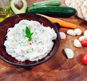 Αργυρώ Μπαρμπαρίγου: Έχετε δοκιμάσει το φανταστικό τζατζίκι λαχανικών της; Φτιάξτε το οπωσδήποτε! - Κυρίως Φωτογραφία - Gallery - Video