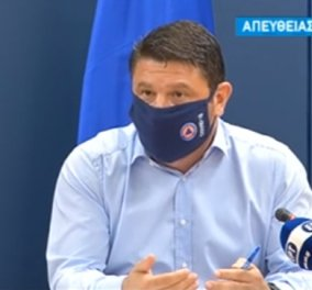 Κορωνοϊός: Τα νέα μέτρα που ανακοίνωσε ο Νίκος Χαρδαλιάς - Όσα είπε ο Σωτήρης Τσιόδρας για τις μάσκες & τον δείκτη R0 (βίντεο)  - Κυρίως Φωτογραφία - Gallery - Video