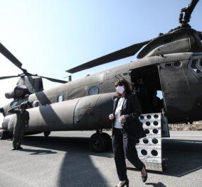 Στον εορτασμό της 77ης επετείου της απελευθέρωσης του Καστελορίζου η Πρόεδρος της Δημοκρατίας, Κατερίνα Σακελλαροπούλου (Φωτό & Βίντεο)  - Κυρίως Φωτογραφία - Gallery - Video