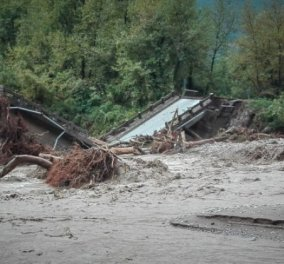 Κακοκαιρία Ιανός: Η βιβλική καταστροφή στην Καρδίτσα - Παραμένουν αποκλεισμένα αρκετά χωριά (Φωτό & Βίντεο)  - Κυρίως Φωτογραφία - Gallery - Video