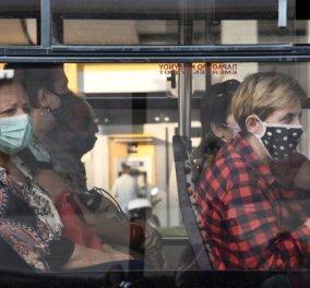 Ήρθαν στα χέρια: Μεγάλος καυγάς μέσα σε λεωφορείο μεταξύ ηλικιωμένου & μιας γυναίκας που δεν φορούσε μάσκα (Βίντεο)  - Κυρίως Φωτογραφία - Gallery - Video