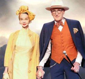 Αυτό το ηλικιωμένο ζευγάρι είναι για editorial μόδας κάθε φορά που βγαίνει έξω - Ντυμένοι στην τρίχα, εκκεντρικοί & ταιριαστοί (φωτό) - Κυρίως Φωτογραφία - Gallery - Video