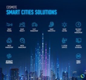 COSMΟΤΕ: «Η τεχνολογία σύμμαχος για να γίνουν οι πόλεις μας πιο φιλικές και ανθρώπινες» - Κυρίως Φωτογραφία - Gallery - Video