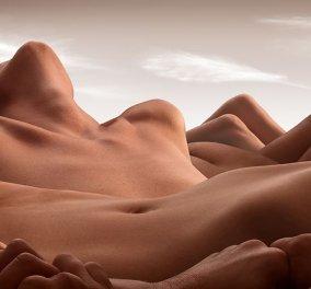Ανθρώπινα σώματα σχηματίζουν μεγαλειώδη τοπία – Το φωτογραφικό project που κόβει την ανάσα - Κυρίως Φωτογραφία - Gallery - Video