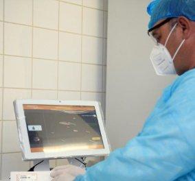 ΕΛΠΕ: Νέα Δωρεά 3.000 τεστ & συστήματος διάγνωσης COVID-19 στο Θριάσιο Νοσοκομείο (Φωτό)  - Κυρίως Φωτογραφία - Gallery - Video