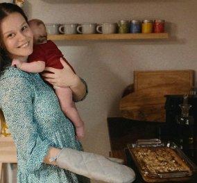 Γεωργία Αβασκαντήρα: Η γυναίκα του Γιώργου Χρανιώτη μαγειρεύει αγκαλιά με το μωρό τους & αποκαλύπτει τις δυσκολίες... (φωτό)  - Κυρίως Φωτογραφία - Gallery - Video