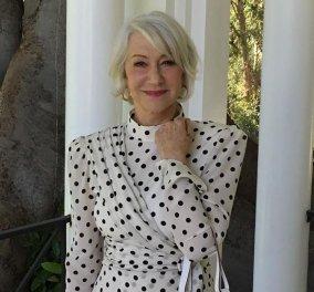 Όχι σκουπίδια, όχι πλαστικά: Η διάσημη ηθοποιός Helen Mirren όπως δεν την έχετε ξαναδεί, καθαρίζει τις ακτές (φωτό) - Κυρίως Φωτογραφία - Gallery - Video