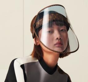 Η Louis Vuitton & η Burberry λανσάρουν ασπίδες προσώπου για τον κορωνοϊό με υπογραφή (φωτό) - Κυρίως Φωτογραφία - Gallery - Video
