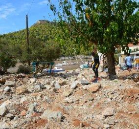 Ιανός - Εικόνες αποκάλυψης στη μαγευτική Άσσο που θάφτηκε κάτω από τόνους λάσπης - Ο Χαρδαλιάς σε Κεφαλονιά & Ιθάκη (Φωτό & Βίντεο)  - Κυρίως Φωτογραφία - Gallery - Video