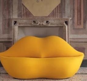Lip Sofa: H ιστορία του πιο αισθησιακού καναπέ που φέτος κλείνει τα 50 του χρόνια (φωτό) - Κυρίως Φωτογραφία - Gallery - Video