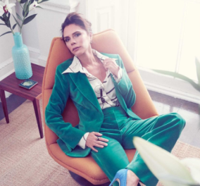 Victoria Beckham: Στυλιστικές συμβουλές για το φθινόπωρο από την ιέρεια της μόδας – Τιρκουάζ με κίτρινο ταιριάζουν; - Κυρίως Φωτογραφία - Gallery - Video