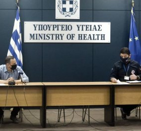 Live -Κορωνοϊός: Η ενημέρωση του Υπουργείου Υγείας για την πορεία της πανδημίας & το άνοιγμα της αγοράς - Κυρίως Φωτογραφία - Gallery - Video