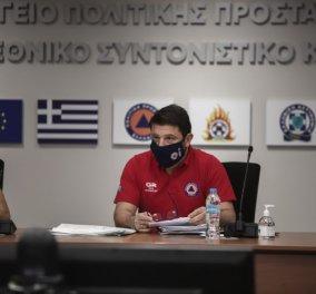 """Ν. Χαρδαλιάς: Σε κατάσταση """"ειδικής κινητοποίησης πολιτικής προστασίας"""" περιοχές σε Δ. Ελλάδα-Πελοπόννησο που θα πλήξει ο """"Ιανός"""" - Κυρίως Φωτογραφία - Gallery - Video"""